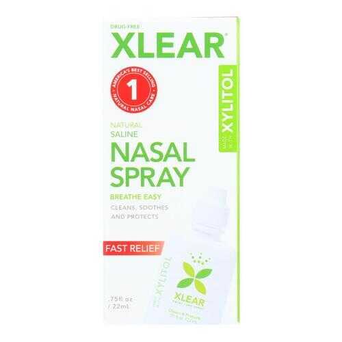 Xlear - Nasal Spray Sinus Single - .75 FZ