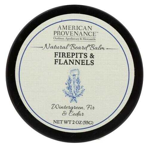 American Provenance - Beard Balm - Firepits and Flannels - 2 oz.