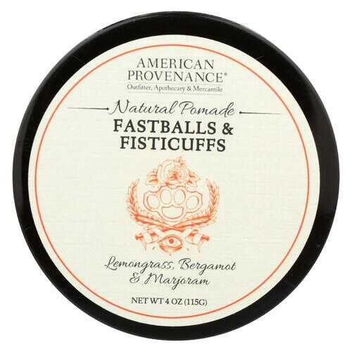 American Provenance - Hair Pomade - Fastballs and Fistcuffs - 4 oz.