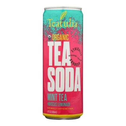 Teatulia - Soda Mint Tea - Case of 12 - 12 FZ