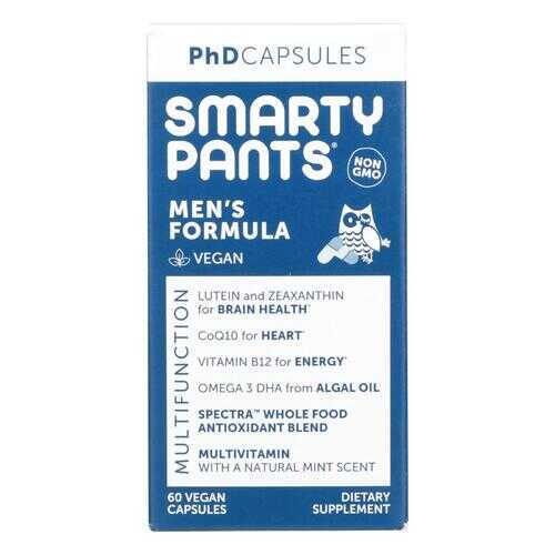 Smartypants - Mens Multi-Vitamin PhD - 60 ct.