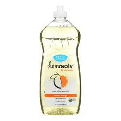 CitraSolv Homesolv CitraDish Natural Dish Soap - Valencia Orange - 25 oz