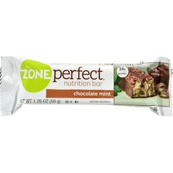 Zone - Nutrition Bar - Chocolate Mint - Case of 12 - 1.76 oz.