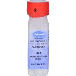 Hyland's Carbo Vegetabilis 30x - 250 Tablets