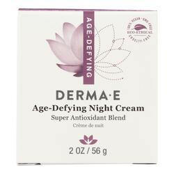 Derma E - Age-Defying Night Creme with Astaxanthin and Pycnogenol - 2 oz.