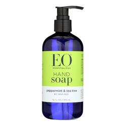 EO Products - Liquid Hand Soap Peppermint and Tea Tree - 12 fl oz