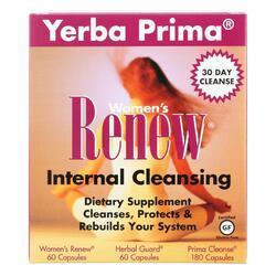 Yerba Prima Women's Renew Internal Cleansing - 1 Kit