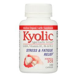 Kyolic - Stress and Fatigue Relief Formula 101 - 100 Capsules