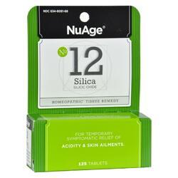 Hyland's NuAge No. 12 Silica - 125 Tablets