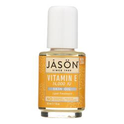 Jason Vitamin E Pure Beauty Oil - 14000 IU - 1 fl oz