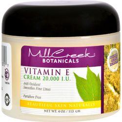 Mill Creek Botanicals Vitamin E Cream - 20000 IU - 4 oz