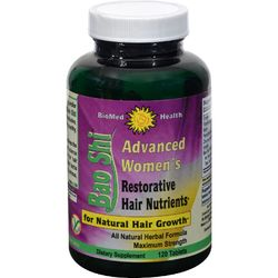 Biomed Health Advanced Women's Bao Shi Restorative Hair Nutrients - 120 Caplets