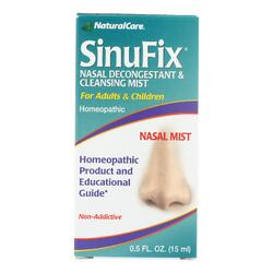 Natural Care SinuFix Nasal Decongestant and Cleansing Mist - 0.5 fl oz