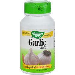 Nature's Way - Garlic Bulb - 100 Capsules