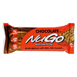 Nugo Nutrition Bar - Chocolate - Case of 15 - 1.76 oz