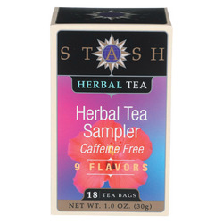 Stash Tea Tea - Herbal - Sampler - Case of 6 - 18 BAG