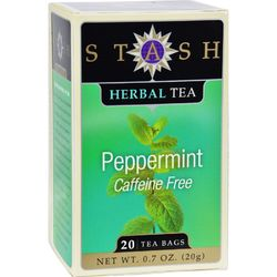 Stash Tea - Herbal - Peppermint - 20 Bags - Case of 6