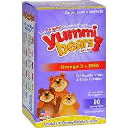 Hero Nutritionals Yummi Bears DHA - 90 Gummy Bears