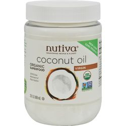 Category: Dropship Botanicals And Herbs, SKU #0517714, Title: Nutiva Virgin Coconut Oil Organic - 29 oz - Case of 6