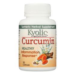 Kyolic - Aged Garlic Extract Curcumin Healthy Inflammation Response - 50 Capsules