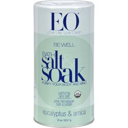 EO Products - Bath Salts Eucalyptus and Arnica - 22 oz