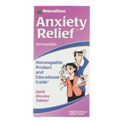 Natural Care Anxiety Relief - 120 Sublingual Tablets