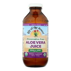 Lily of the Desert - Aloe Vera Juice - Whole Leaf - 16 fl oz