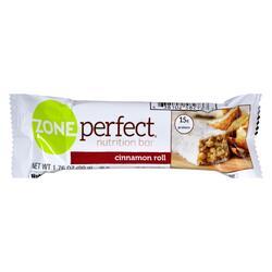 Zone - Nutrition Bar - Cinnamon Roll - Case of 12 - 1.76 oz.