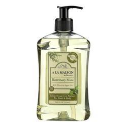A La Maison - French Liquid Soap - Rosemary Mint - 16.9 fl oz