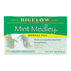 Bigelow Tea Herbal Tea - Mint Medley - Case of 6 - 20 BAG