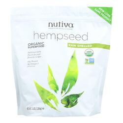 Nutiva Organic Shelled Hempseed - 3 lbs