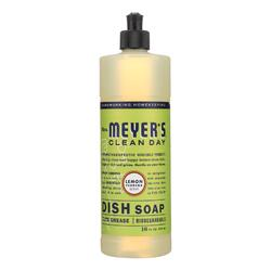 Mrs. Meyer's Clean Day - Liquid Dish Soap - Lemon Verbena - Case of 6 - 16 oz