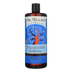 Dr. Woods Pure Castile Soap Peppermint - 32 fl oz