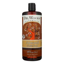 Dr. Woods Pure Castile Soap Almond - 32 fl oz