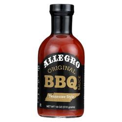 Allegro Sauce - BBQ Original - Case of 6 - 18 fl oz