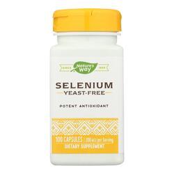Nature's Way - Selenium - 200 mcg - 100 Capsules
