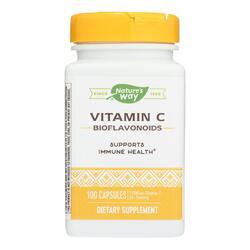 Nature's Way - Vitamin C-500 with Bioflavonoids - 500 mg - 100 Capsules