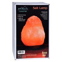 """Himalayan Salt Crystal Lamp Small 7"""" To 8"""" - 1 Lamp"""