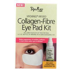 Reviva Labs - Collagen Fibre Eye Pad Kit 2-Pads - 2 oz