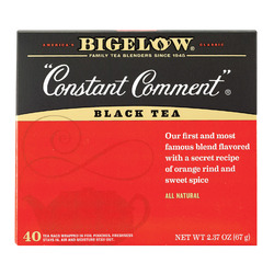 Bigelow Tea Tea - Constant Comment - Case of 6 - 40 BAG