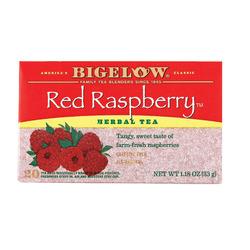 Bigelow Tea Herbal Tea - Red Raspberry - Case of 6 - 20 BAG