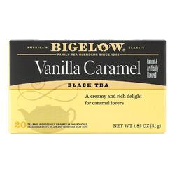Bigelow Tea Vanilla Caramel Black Tea - Case of 6 - 20 Bags