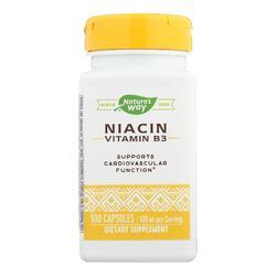 Nature's Way - Niacin - 100 mg - 100 Capsules