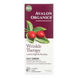 Avalon Organics CoQ10 Repair Wrinkle Defense Creme SPF 15 - 1.75 oz