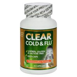 Clear Products Clear Cold and Flu - 60 Capsules