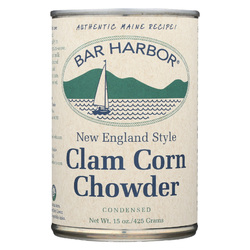 Bar Harbor Clam and Corn Chowder - Case of 6 - 15 oz.