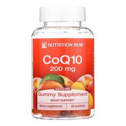 Nutrition Now CoQ10 Adult Gummy Vitamin - 60 Gummy Vitamins