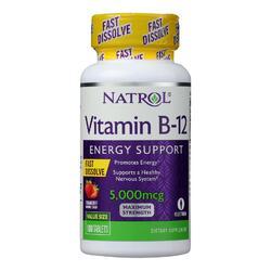 Natrol Fast Dissolving Vitamin B12 - 5000 mcg - 100 tabs