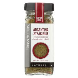 Urban Accents Spice - Argentina Steak Rub - Case of 4 - 2 oz
