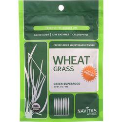 Category: Dropship Botanicals And Herbs, SKU #1274067, Title: Navitas Naturals Wheat Grass Powder - Organic - 1 oz - case of 6